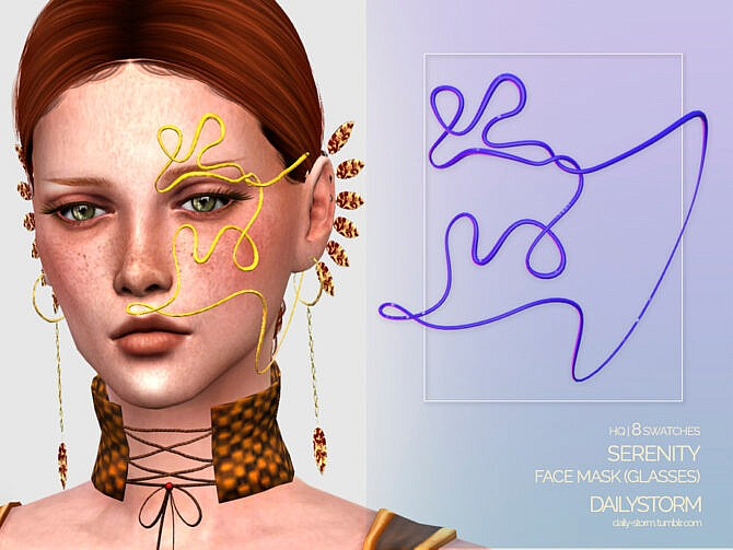 Sims 4 Serenity Face Mask by DailyStorm at TSR