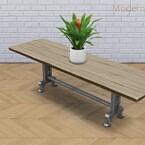 Slab Farmhouse Table Recolour