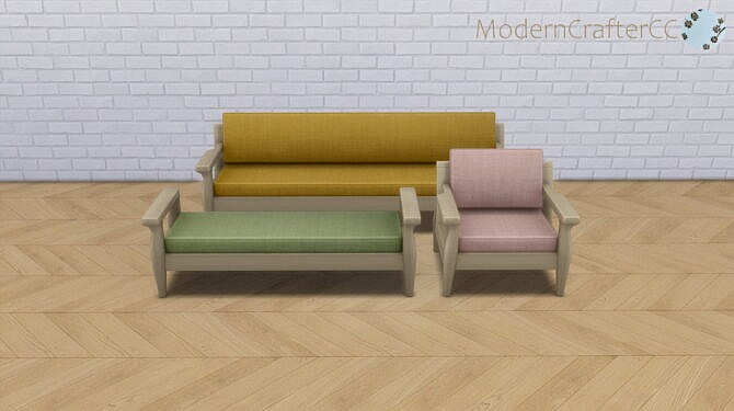 Sims 4 Peacemaker Snog Lounge Set Recolour at Modern Crafter CC