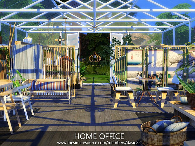 Home Office By Dasie2