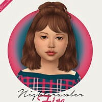 Nightcrawler Fire Hair Kids Version