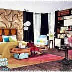 Retro Rita Bedroom By Marychabb