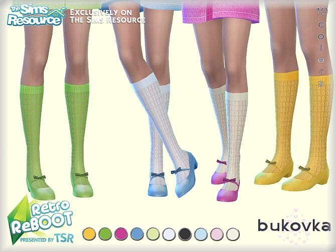 Sims 4 Retro Shoes Retro by bukovka at TSR