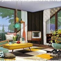 Retro Rita Living Room By Marychabb