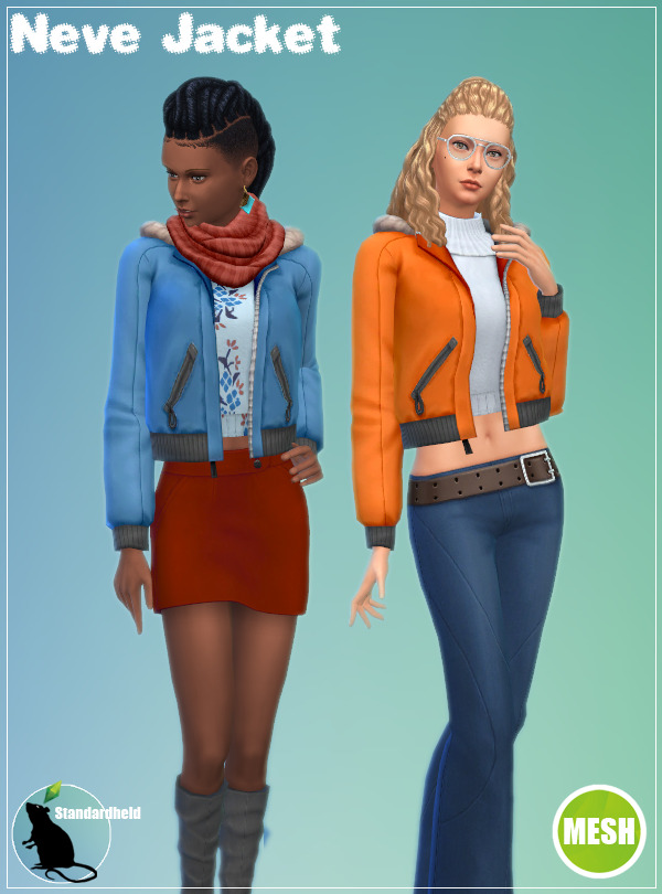 Sims 4 Neve Jacket at Standardheld