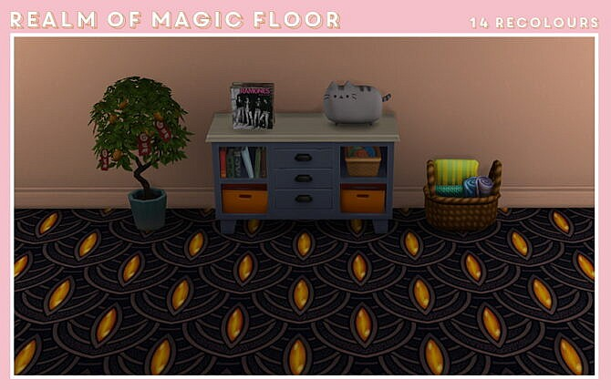 A Floor Version Of Realm Of Magic Wall.