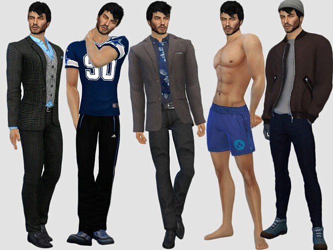 Sims 4 Lawrence Green by DarkWave14 at TSR