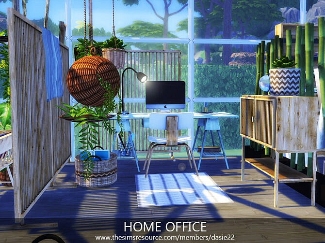 Sims 4 HOME OFFICE by dasie2 at TSR