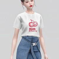 Recolor Basic T-shirt Af Iiii