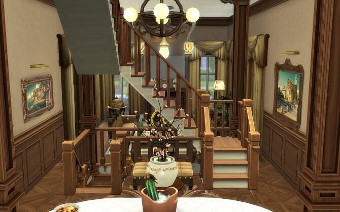 Sims 4 Brick Manor by alexiasi at Mod The Sims 4
