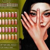 Long & Short Natural Nails Set