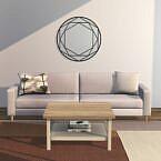 Hemnes Coffee Table & Multi-hexagonal Wall Mirror