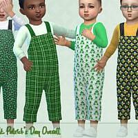 St. Patricks Day Overall By Pelineldis