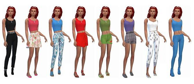 Sims 4 EP08 CROP TOP at Sims4Sue