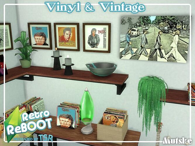 Retro Vinyl And Vintage By Mutske