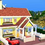 Colorful Small Family House 20×15 By Bradybrad7