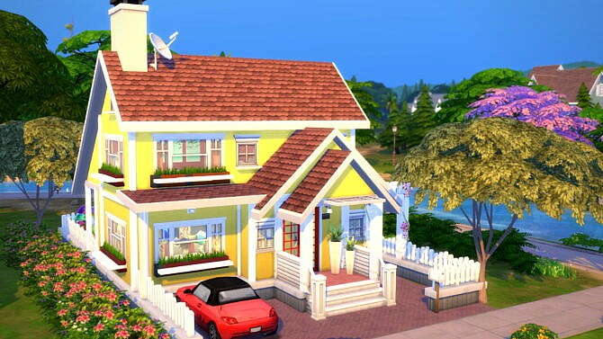 Colorful Small Family House 20×15 By Bradybrad7