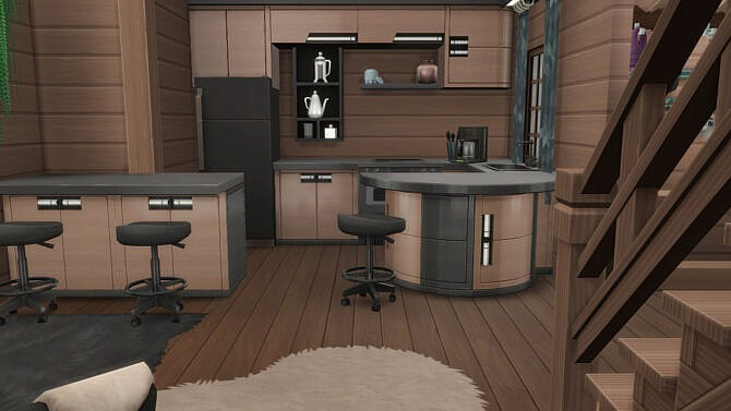 Sims 4 On the pass house by fatalist at ihelensims
