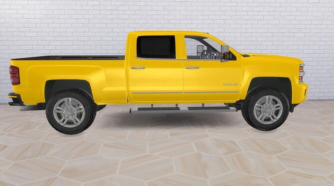 Sims 4 2015 Chevrolet Silverado 2500HD at Modern Crafter CC