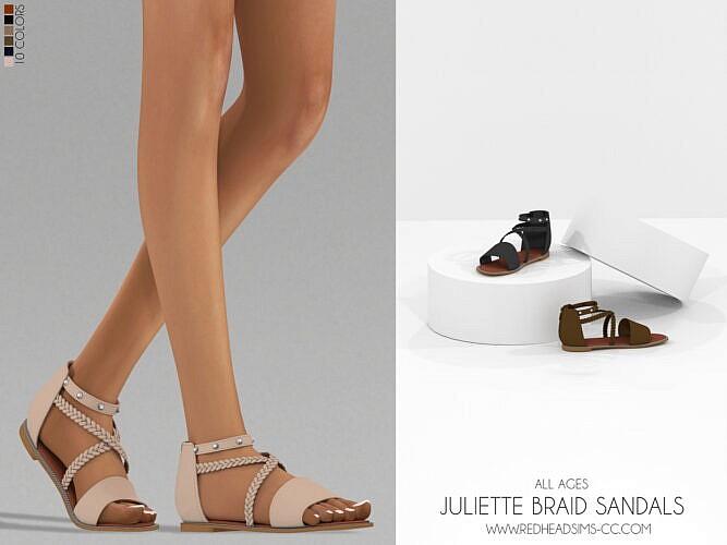 Juliette Braid Sandals