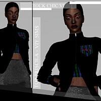 Rock Chic Vi Top Priscila By Viy Sims