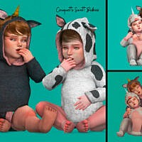 Sweet Babies Posepack By Couquett