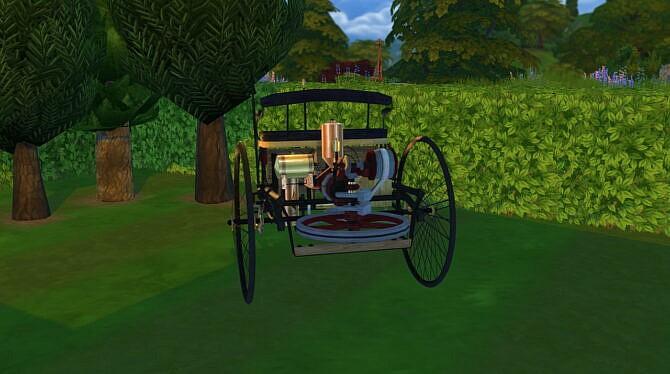 Sims 4 Benz Patent Motorwagen at LorySims