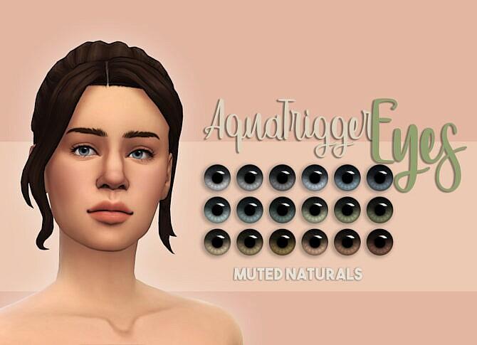 Aqua Trigger Eyes Muted Naturals Nd