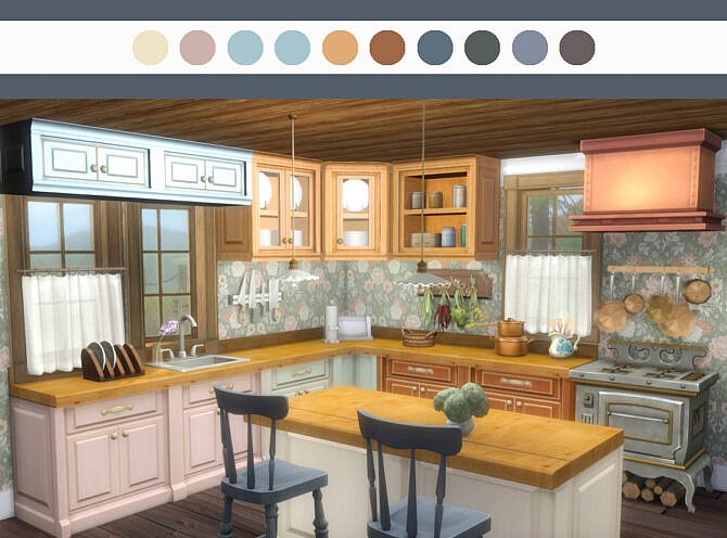 Sims 4 Recolors of S.cargeaux counters by pocci at Garden Breeze Sims 4