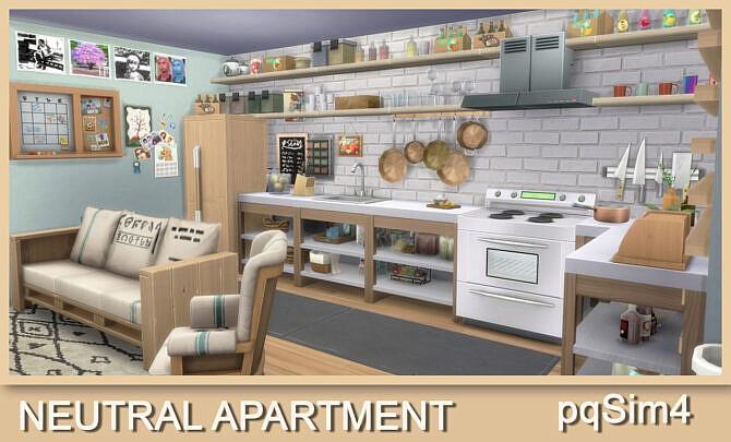 Neutral Apartment No Cc