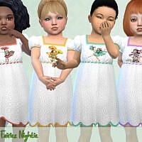 Flower Fairies Nightie By Pelineldis