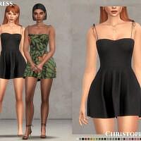 Lipa Dress By Christopher067