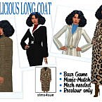 Simalicious' Long Coat