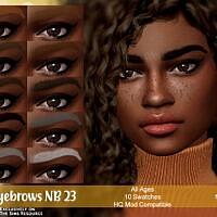 Eyebrows Nb23