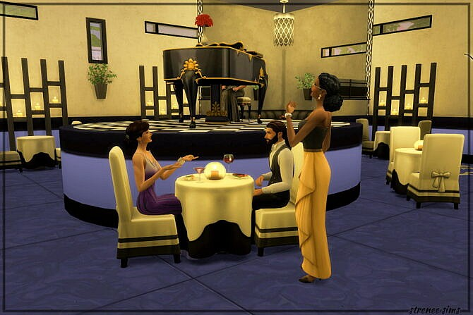 Sims 4 Frankie's On The Ave Restaurant at Strenee Sims