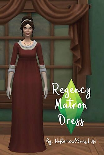 Regency Matron Dress