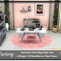 Rug Factory: Geometric Rugs