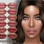 Frs Lipstick N247 By Fashionroyaltysims
