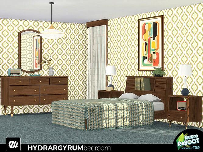 Retro Hydrargyrum Bedroom By Wondymoon