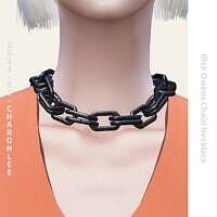 Rick Owens Chain Necklace