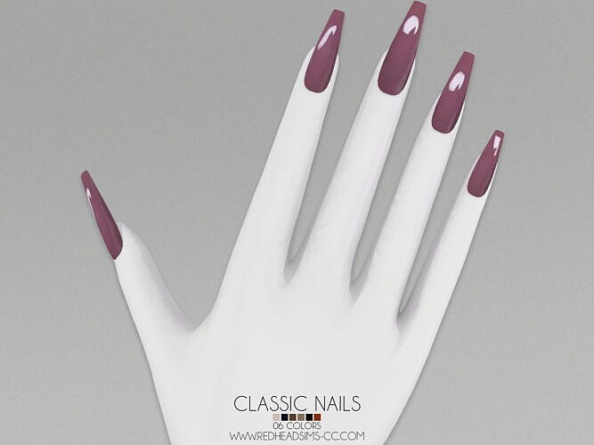 Classic Nails By Thiago Mitchell