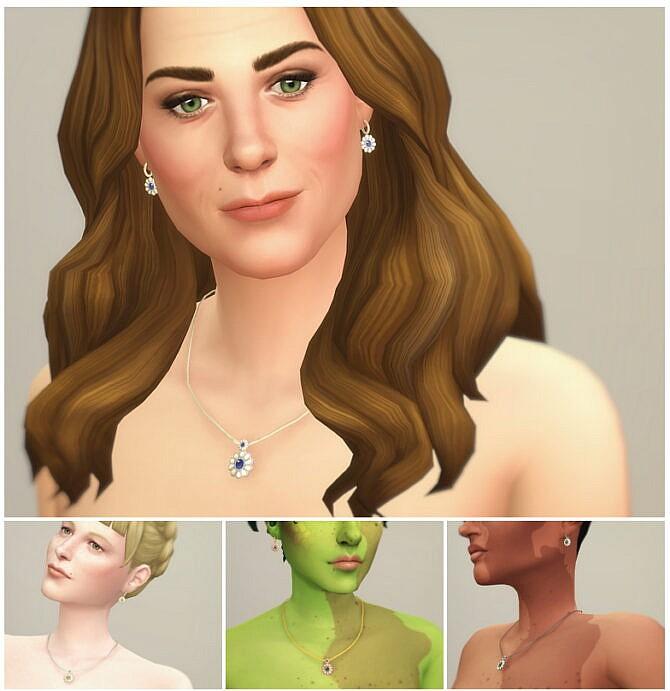 Sims 4 M jewelry III Set at Rusty Nail