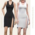 Zipped Mini Dress