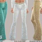 Retro Sequin Pants By Ekinege
