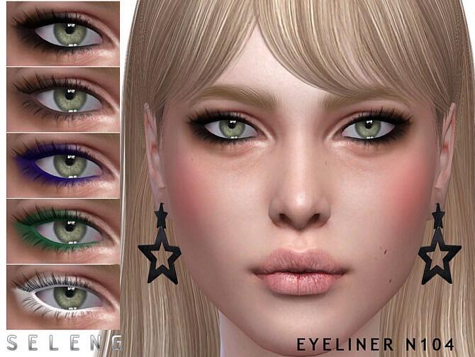 Sims 4 Eyeliner N104 by Seleng at TSR