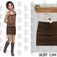 Skirt C344 By Turksimmer