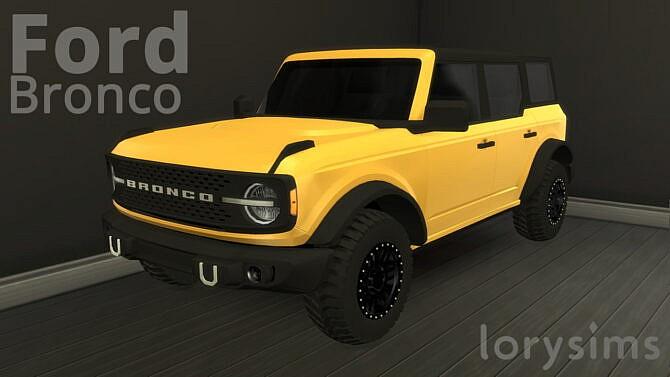 2021 Ford Bronco 4 Doors