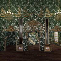 Rococo Styled Room Frames & Walls