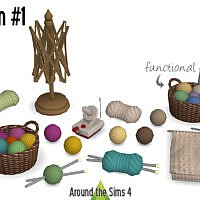 Crafting Room #1 Knitting Clutter