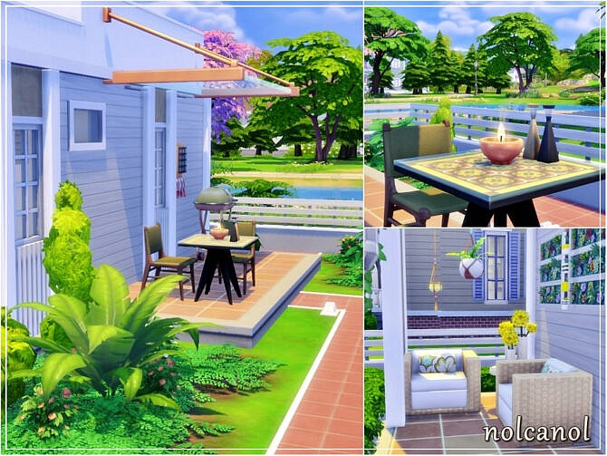 Sims 4 Little Lucy house by nolcanol at TSR